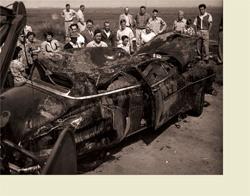 Nathan Callahan Car Crash Crucifixion The Art Of Oc